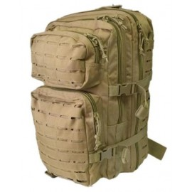 Рюкзак MIL-TEC ASSAULT BACKPACK 36л койот перфорация (14002705), Германия