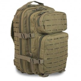 Рюкзак MIL-TEC ASSAULT BACKPACK 36л хаки перфорация (14002701), Германия