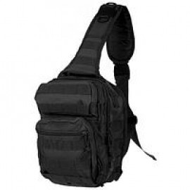 Pюкзак однолямочный Mil-Tec TACTICAL BLACK ONE STRAP ASSAULT PACK LARGE  (14059288), Германия