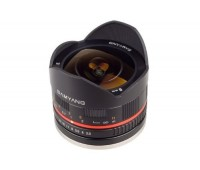 Объектив Samyang 8mm f/2.8 UMC Fish eye II Рыбий глаз для Fuji X