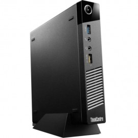 Мини-компьютер ThinkCentre M73 Intel Core i3-4130Т/DDR3 4Gb/SSD 240Gb/WindowsPro (10AX-S0W000)