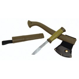 Набор MORA (топор - Outdoor Axe Camp 1991 и нож MORA Outdoor 2000) (1-2001), Швеция
