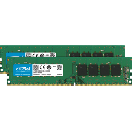 Оперативная память Crucial 32GB Kit (2 x 16GB) DDR4-2666 UDIMM (CT2K16G4DFD8266)