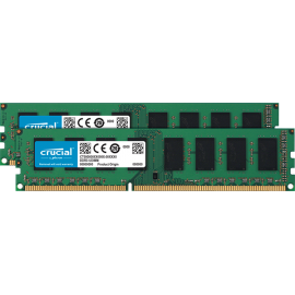 Оперативная память Crucial 16GB Kit (2 x 8GB) DDR3L-1600 UDIMM (CT2K102464BD160B)